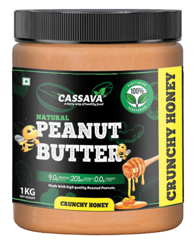 Cassava's Honey Creamy Peanut Butter